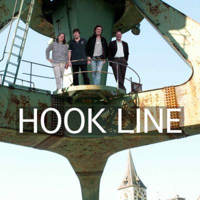 Hook Line auf Hafenkran Zürich